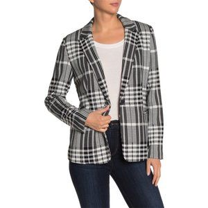 NWT Philosophy Notch Collar Ponte Blazer Jacket M
